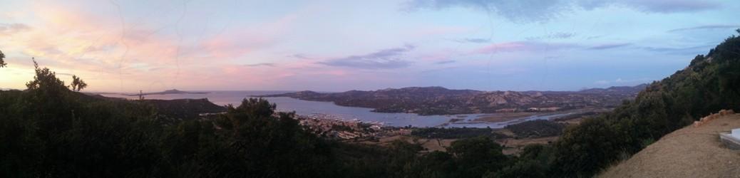 Veduta di Cannigione e Veduta Arcipelago della Maddalena
